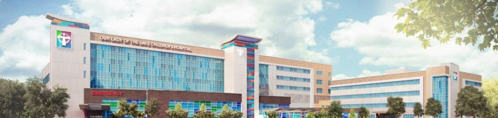 New Our Lady of the Lake Children's Hospital